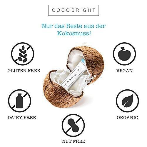 COCOBRIGHT | 14 Tage Oil Pulling Kokosnuss Öl Detox Kur – Pfefferminz Geschmack – Zahnöl - 5