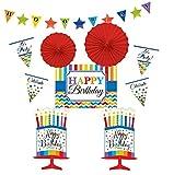 Amscan 241249 Raumdekorations-Set Bright Birthday