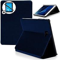 Forefront Cases® Samsung Galaxy Tab A 10.1 with S Pen SM-P580 Funda Carcasa Stand Smart Case Cover Protectora Plegable – Función automática inteligente de Suspensión/Encendido + Lápiz óptico y protector de pantalla ***SOLO AJUSTAR SAMSUNG GALAXY TAB A 10.1 SM-P580 CON INTEGRADO S PEN***