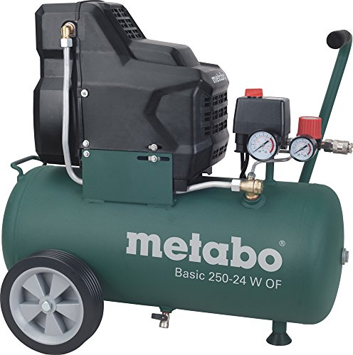 Preisvergleich Produktbild Metabo Kompressor ''Basic 250-24 W OF'' ölfrei 200