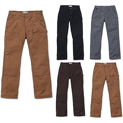 Carhartt - Pantaloni da lavoro EB136, effetto slavato, Dungaree, EB136