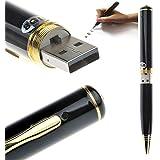 CAM 360 16 GB Inbuilt USB Flash Drive Stick Mini Pin-hole VGA Spy Pen Camera Voice-Video Recorder