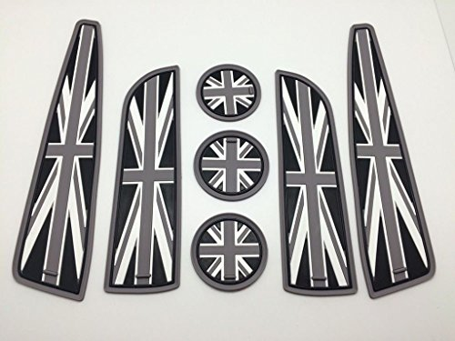 7-union-jack-uk-flag-coasters-cup-holders-side-door-mats-for-07-13-mini-cooper-s
