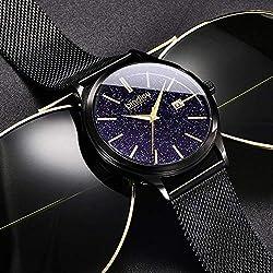 Hommes Teen Watch Hommes Junior High School Étudiants Fashion Trend Black Tech Boys Simple Mechanical Watch 17 Ⅰ.