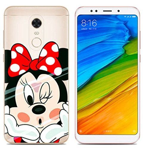 PREVOA Funda para Xiaomi Redmi 5 Plus - Colorful Silicona TPU Funda Case para Xiaomi Redmi 5 Plus Smartphone 5,99 Pulgadas - 14