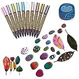 les marqueurs métalliques métalliques métalliques, 10x, marqueurs de bricolage album photos, des livres de coloriage, carte (10 couleurs)