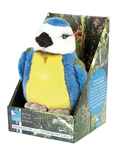 Ravensden RSPB Singing Bluetit Soft Toy