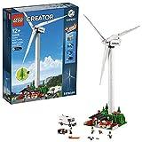 LEGO- Creator Aerogenerador Vestas-Maqueta de Juguete de Molino de Viento Moderno (10268)