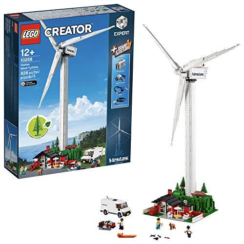LEGO Creator Aerogenerador Vestas-Maqueta de Juguete de Molino de Viento Moderno (10268)