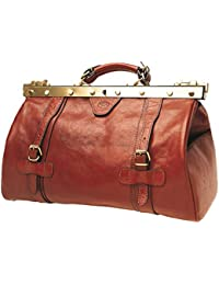 Vanity - Sac A Main Femme, Katana, Porte Main Ou Epaule, Cuir Vachette Collet 36 X 23 X14 (rouge)