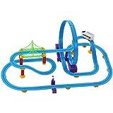 Babytintin™ 360 Degree Rotational Paradise Stunt Bridge Track set with light and music (X-large)