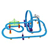 #10: Babytintin™ 360 Degree Rotational Paradise Stunt Bridge Track set with light and music (X-large)