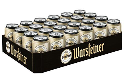 Warsteiner Premium Pilsener 24 x 0,33 Liter Dosenbier mild-hopfig / Internationales Bier nach deutschem Reinheitsgebot / Palette Bier auch im Spar-Abo erhältlich (Bier Internationale)