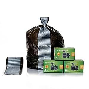 HandyBin Diaper Disposal Bag(30 Bags/Box, 6 Boxes, 180 bags)