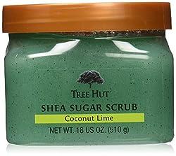 Tree Hut Shea Sugar Coconut Lime Body Scrub, 18 oz