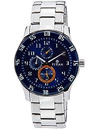 Titan Octane Analog Blue Dial Men's Watch -NK1632SM03