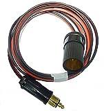 Rocket Radio - DC Konverter Kabel Zubehör 2 M lang für BMW & Triumph Motorräder