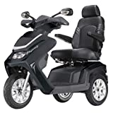 Drive Medical Royale 3 Class 3 Deluxe Heavy Duty 3 Wheel Mobility Scooter -Black