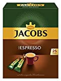 Jacobs Espresso Sticks 25 Portionen/Packung, 4er Pack (4 x 45 g)
