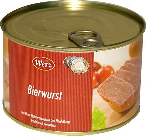 Hausmacher Dosenwurst Bierwurst 400g MHD:1/20