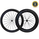 WIND BREAK Bike Front 60mm Rear 88mm Wheelset 700c 23mm Clincher Carbon Wheel