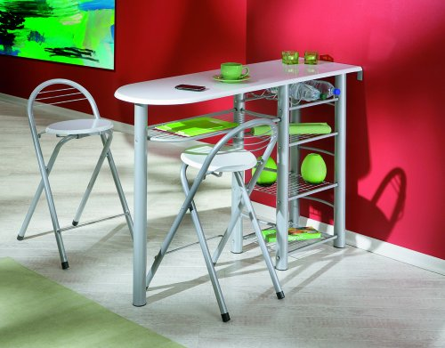 Links tavolo bar da cucina incl sgabelli design