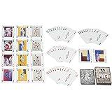 Juego de cartas, 52 cartas, 2Joker azul, Poker