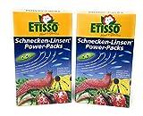 Etisso SchneckenkornSchnecken-Linsen 1,6 Kg Power-Packs (2 x 800g) +Bodenanalyse-Gutschein