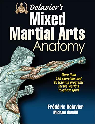 Delavier's Mixed Martial Arts Anatomy por Frederic Delavier