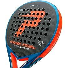 Pala Power Padel Ultimated Carbon Pro Orange / Blue Mate