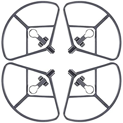 4 Packs Propellers Guard for DJI Mavic Pro, FineGood Quick Release Bumper Protectors Protective Cover, Not Affect Obstacle Avoidance for DJI Mavic Pro Drone - Gray