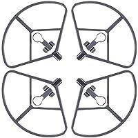 4 Packs Propellers Guard para DJI Mavic Pro, FineGood Protectores de Parachoques de Liberación Rápida Cubierta Protectora, sin Afectar Evitación de Obstáculos para DJI Mavic Pro Drone - Gris