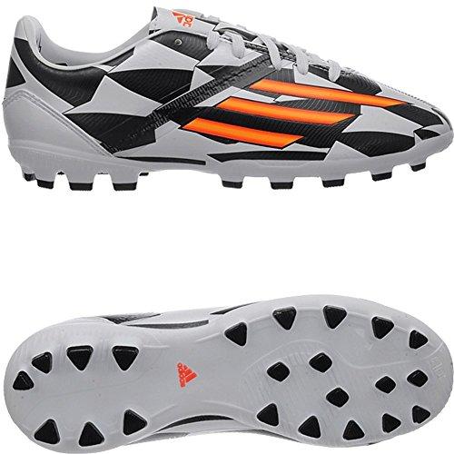 F10 AG J (WC) WHI - Chaussures Football Garçon Adidas Blanc - cwhite/sogold/cblack