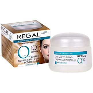 Regal Q10+ – Crema Hidratante de Día Antiarrugas Piel Normal y Mixta