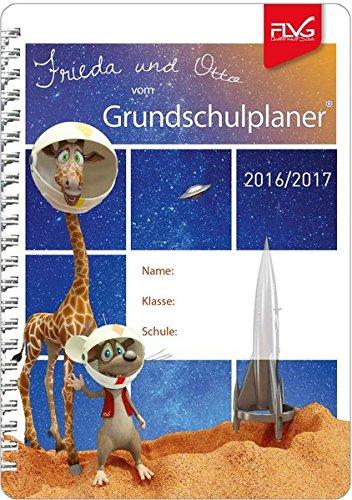 Grundschulplaner mit Frieda & Otto 2016/2017