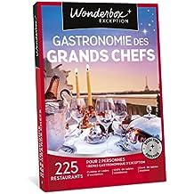 WONDERBOX - Coffret cadeau - GASTRONOMIE DES GRANDS CHEFS