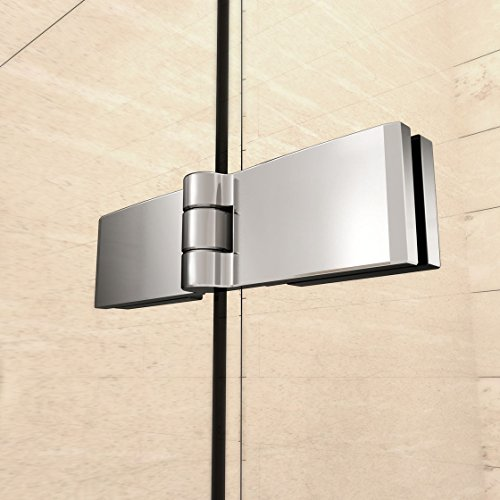 51EnqW1gCoL - 110x140cm Mamparas/pantalla para bañera biombo baño plegable de Aica