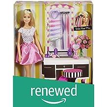 (Renewed) Barbie Doll and Playset