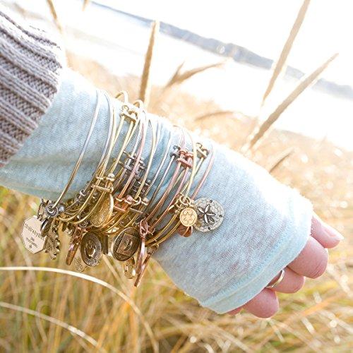 Non-Antique pour tüpfeln laiton finition The Sea Angelica Bracelet Bracelet Blanc