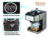 Ekvira Stainless Steel Automatic Home Oil Extractor, Digital Display with Touch Control Button, Easy to Operate, Electric Oil Presser
