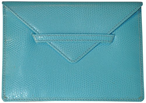 budd-leather-lizard-grano-sobre-de-fotos-de-piel-azul
