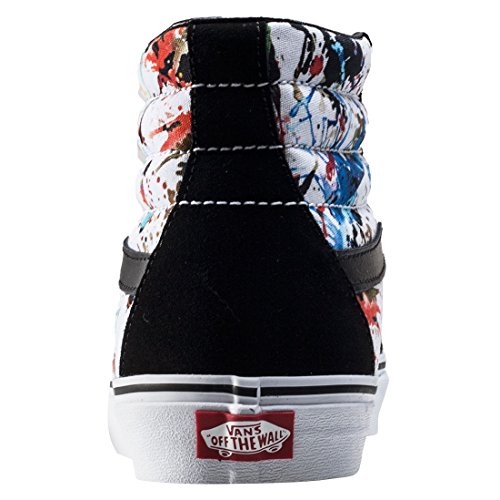Vans Sk8-Hi Reissue, Sneakers Hautes Mixte Adulte Black Multicolour