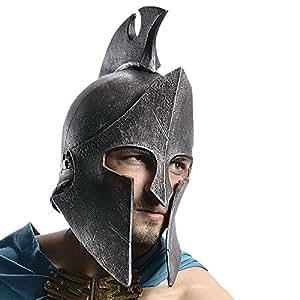 Casque de costume 300 Thémistocle, plastique souple, idéal comme accessoire de costume