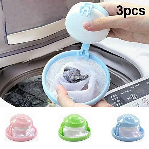 chwimm Pet Fell Catcher Wiederverwendbare Haarentferner Werkzeug für Waschmaschine ()