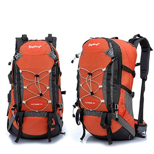 Pathfinder Pionier im Freien Bergtasche Tasche Rucksack Wandern regen Abdeckung montierbare Tragesystem zu senden Orange
