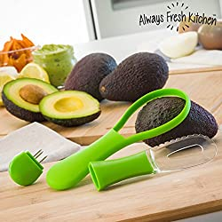 Always Fresh Kitchen Cortador-Pelador de Aguacates All In One Avocadore
