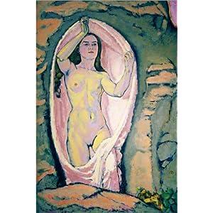Posterlounge Leinwandbild 60 x 90 cm: Venus in der Grotte von Koloman Moser/akg-Images – fertiges Wandbild, Bild auf…