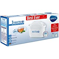 BRITA Maxtra+ Water Filter Cartridges, White, Pack of 3 (UK Version)
