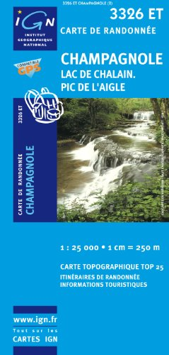 Champagnole/Lac de Chalain/Pic de l'Aigle GPS: IGN.3326ET par IGN