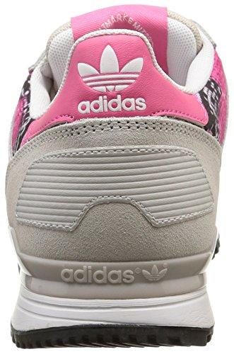 adidas ZX 700, Scarpe da Ginnastica Donna Beige (Beige (Pearl Grey S14/Pearl Grey S14/Joy Pink S13))